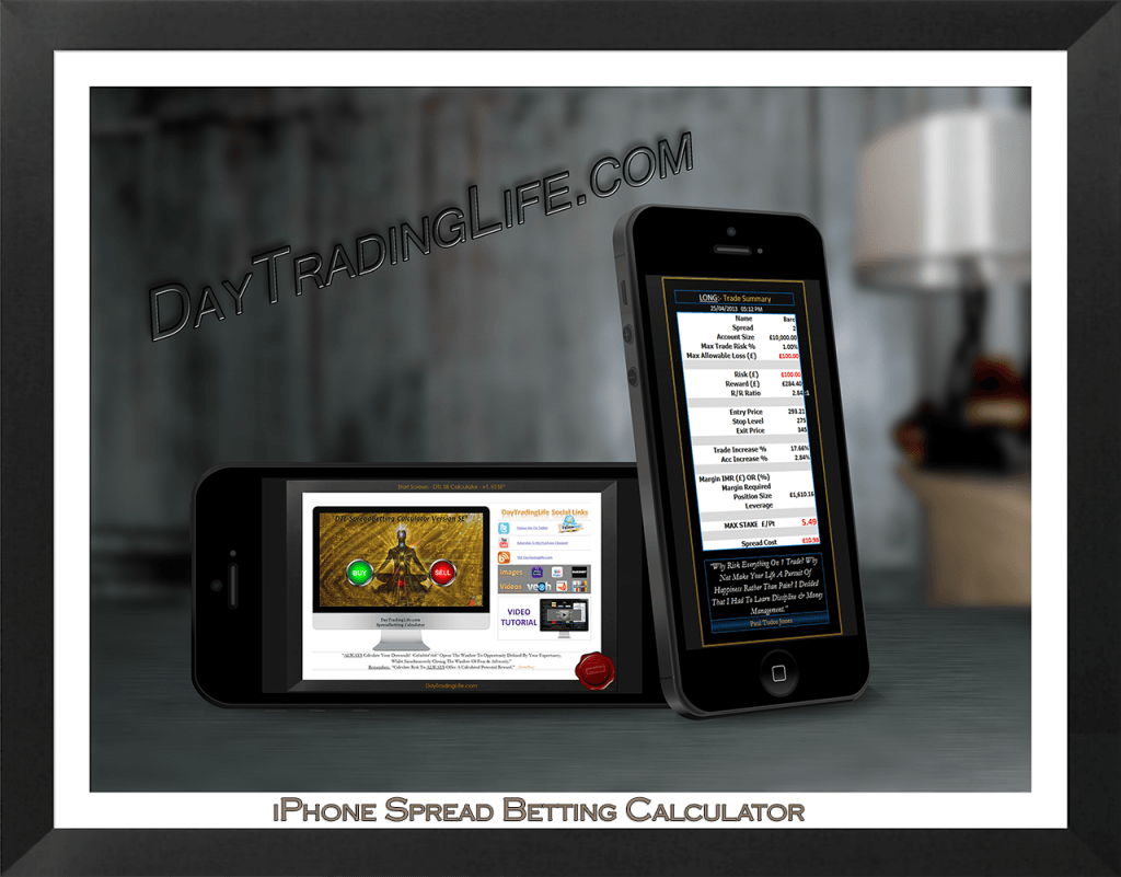 iPhone5 Spread Betting Calculator