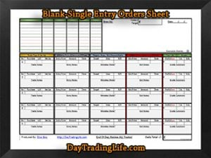 BLANK - 'Single' Entry Orders Sheet-sm